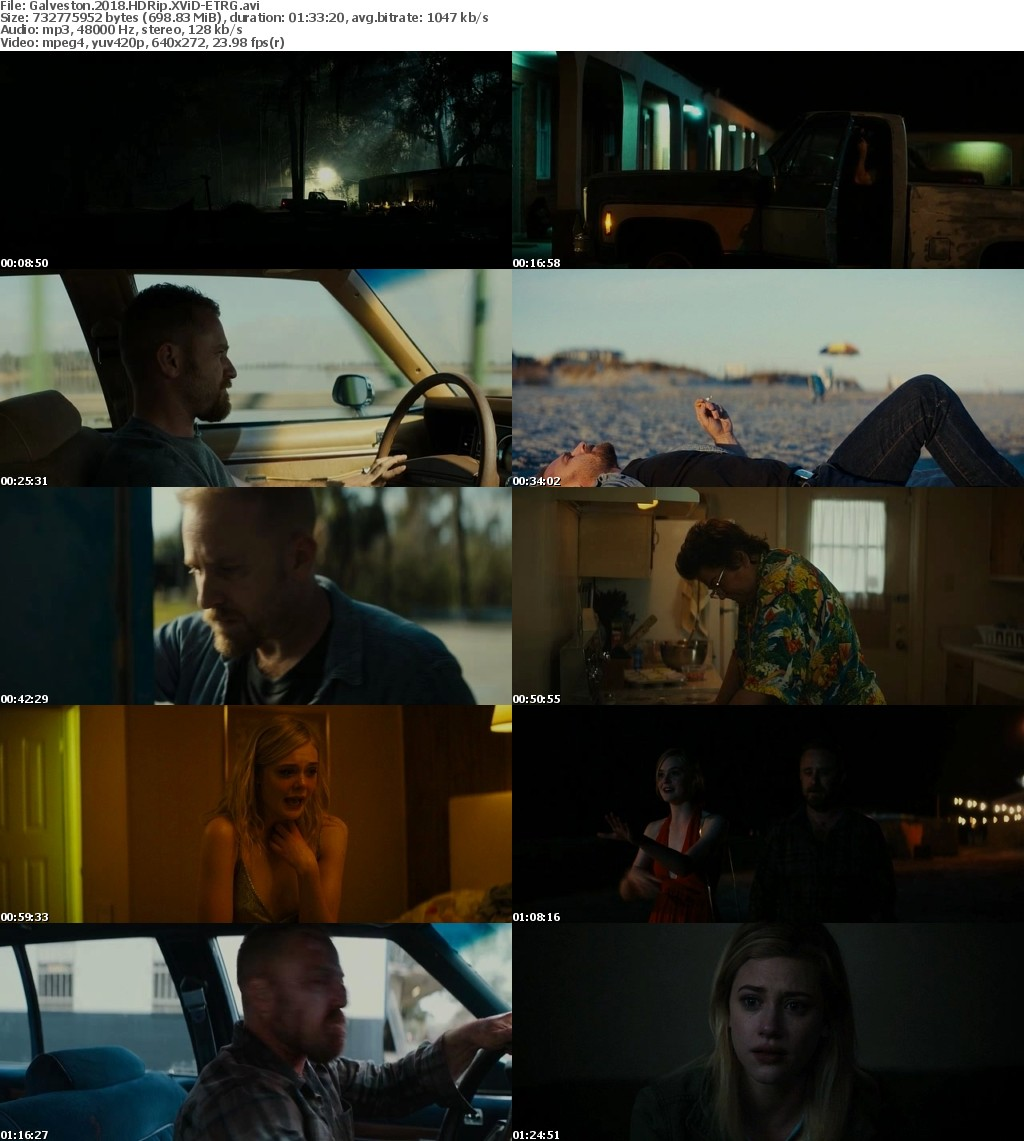 Galveston (2018) HDRip XViD-ETRG