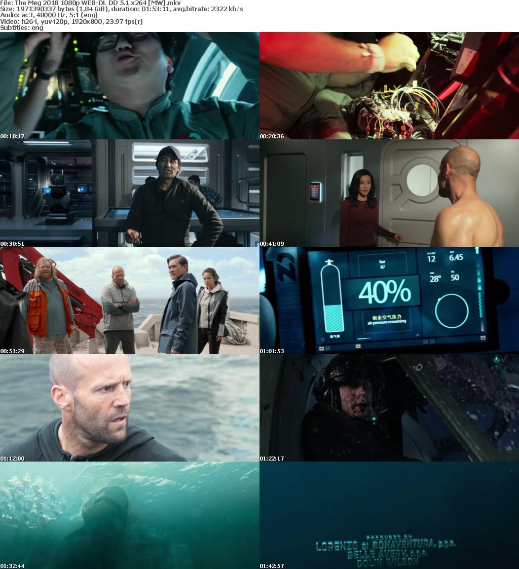 The Meg (2018) 1080p WEB-DL DD 5.1 x264 MW