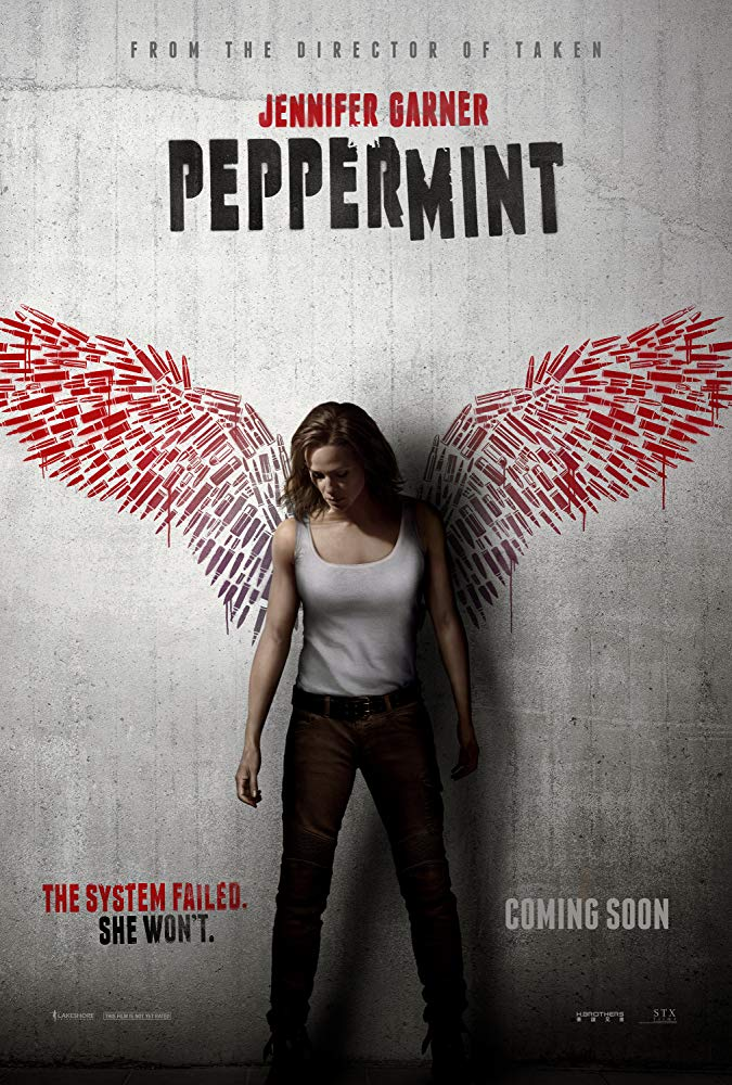 Peppermint 2018 HDRip AC3 X264-CMRG