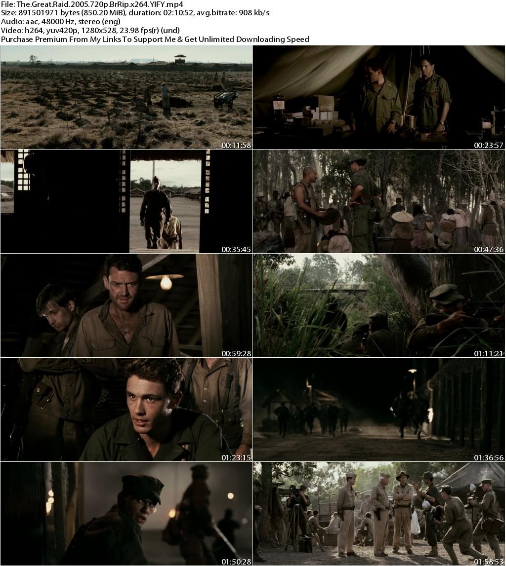 The Great Raid (2005) 720p BrRip x264 YIFY