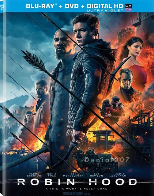 Robin Hood (2018) English 720p HDCAM x264 800MB- SM