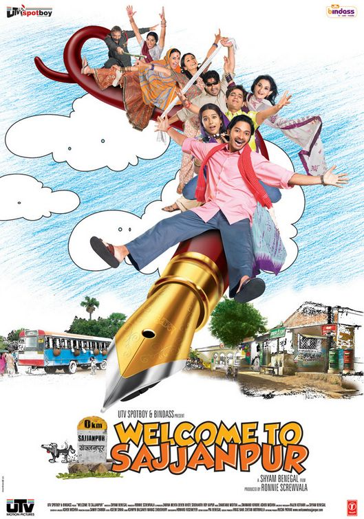 Welcome To Sajjanpur (2008) Hindi 720p WEB-DL x264 AC3 5.1 ESub-Sun George
