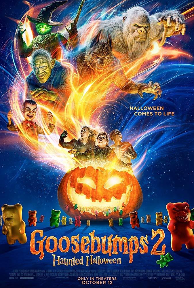 Goosebumps 2 Haunted Halloween 2018 720p WEB-DL XviD AC3-FGT