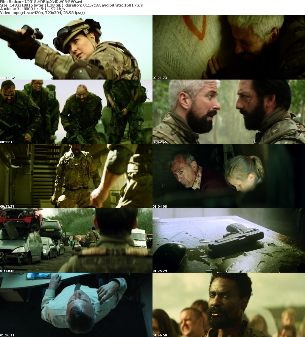 Redcon-1 (2018) HDRip XviD AC3-EVO