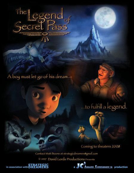 The Legend Of Secret Pass (2018) 1080p HDRip X264 AC3-EVO