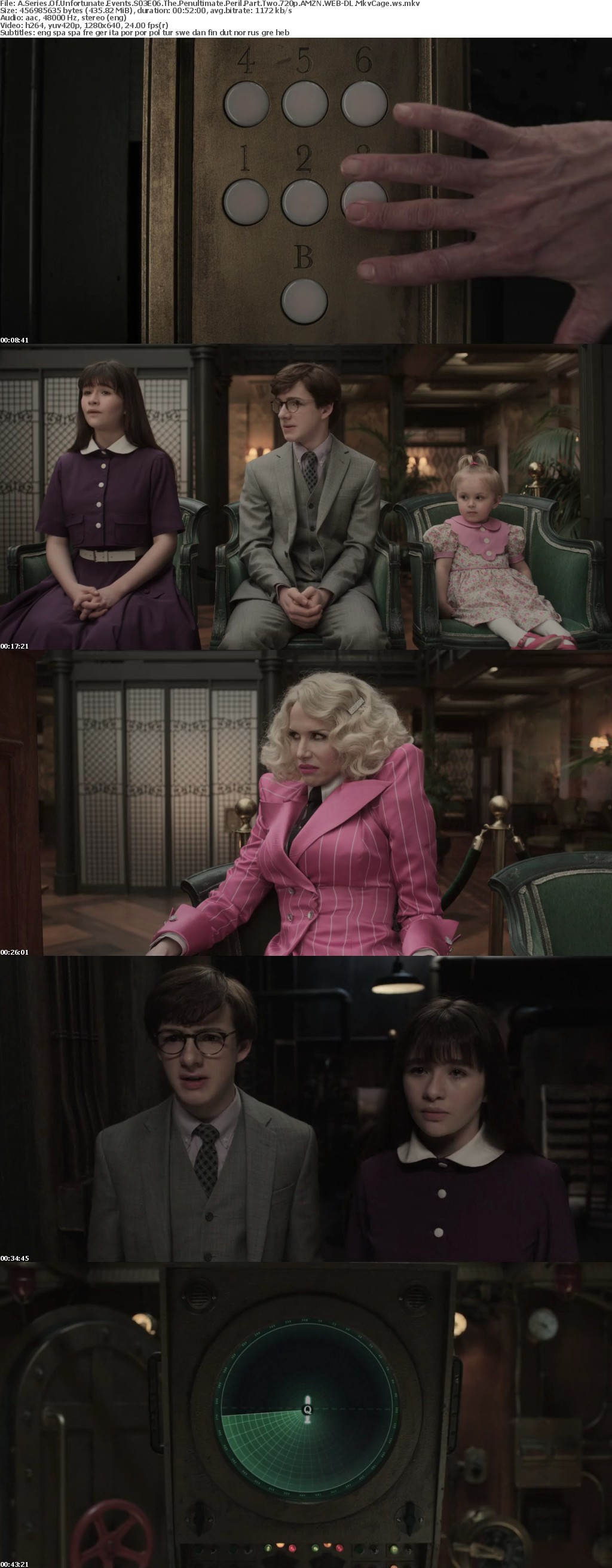 A Series of Unfortunate Events S03 720p NF WEB-DL x264 MkvCage