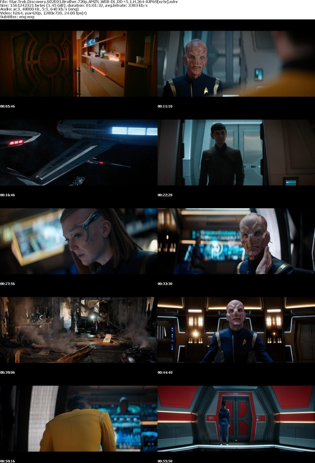 Star Trek Discovery S02E01 Brother 720p AMZN WEB-DL DD+5.1 H264-AJP69