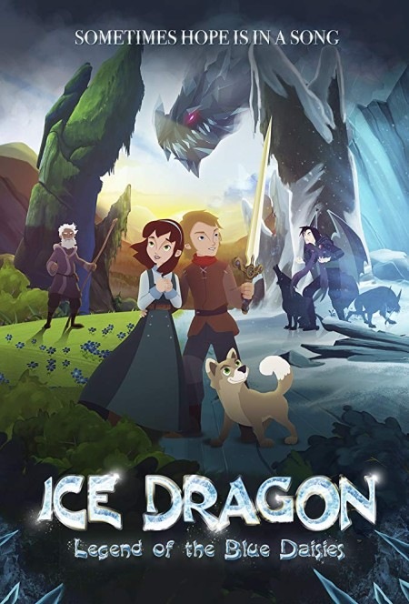 Ice Dragon Legend of the Blue Daisies (2018) 720p HDRip x264-BONSAI