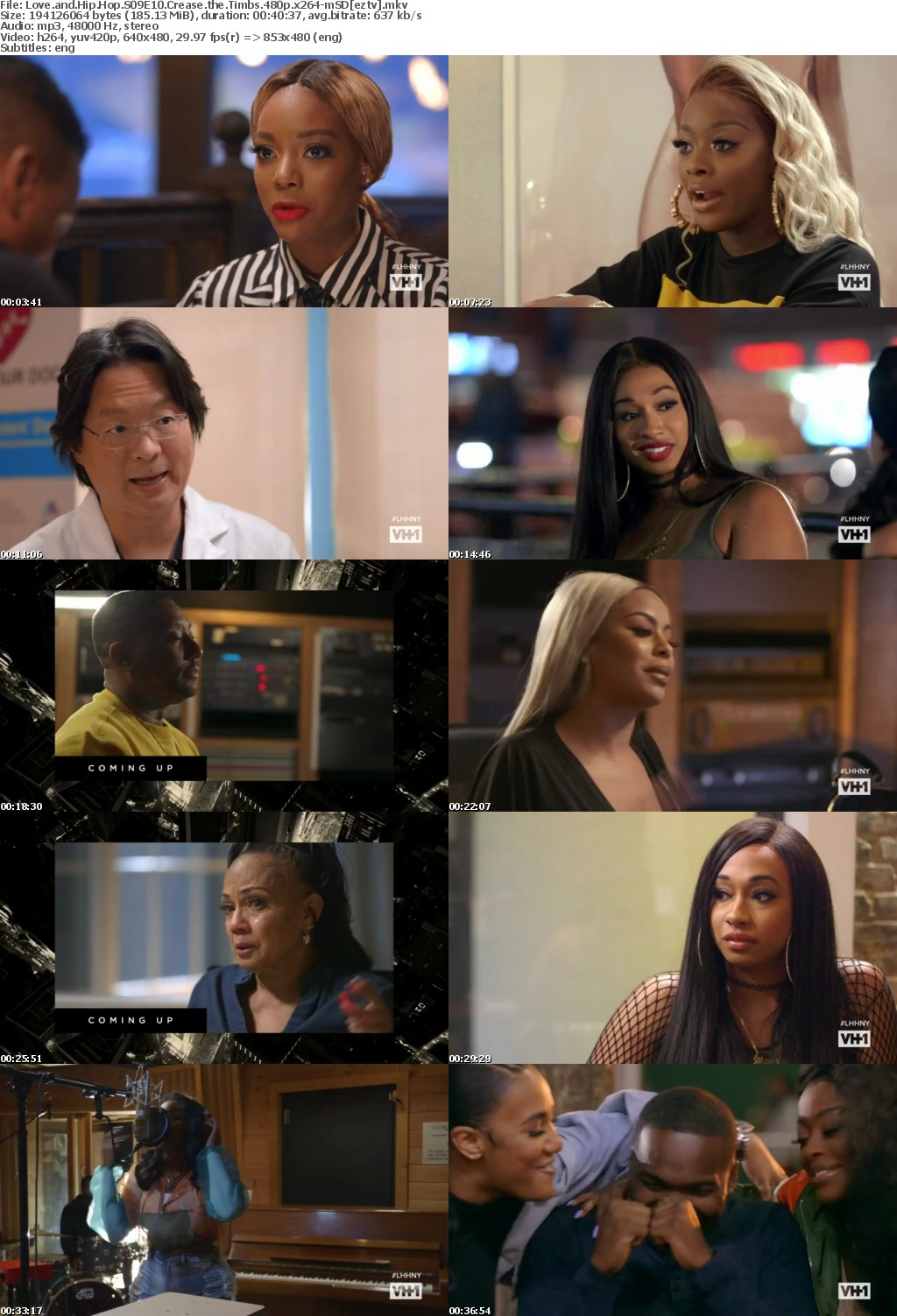 Love and Hip Hop S09E10 Crease the Timbs 480p x264-mSD