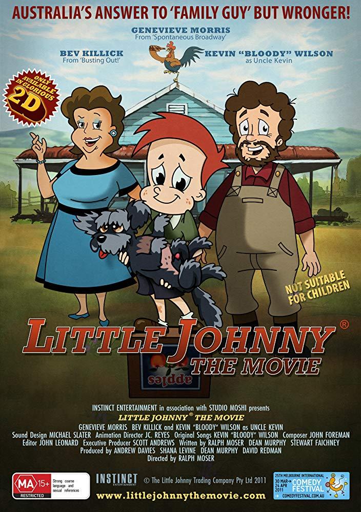 Little Johnny The Movie 2011 720p BRRip x264-x0r