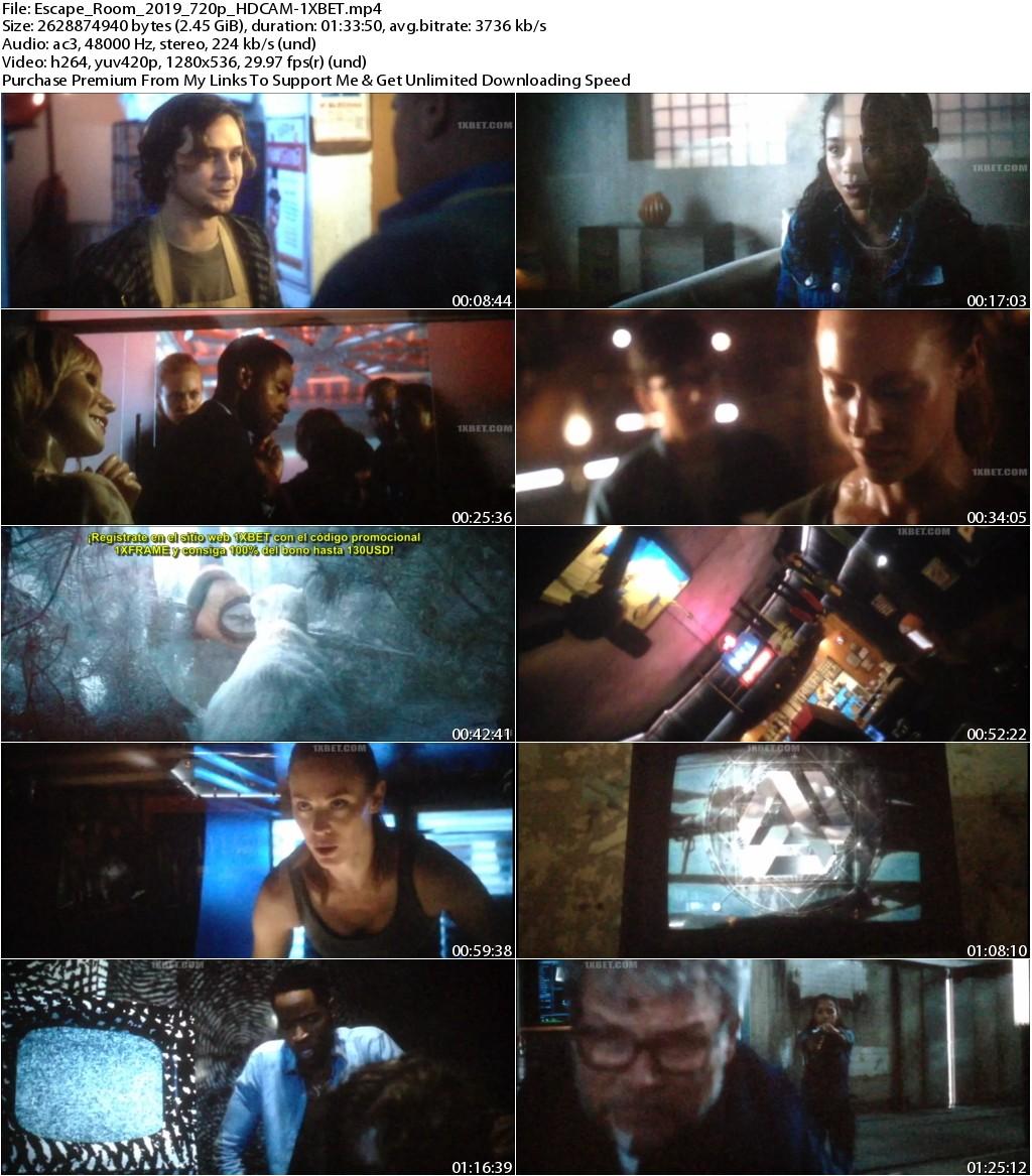 Escape Room (2019) NEW 720p HDCAM-1XBET