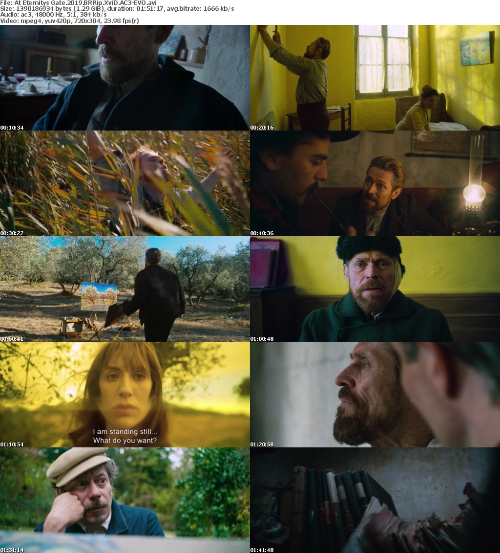 At Eternitys Gate (2019) BRRip XviD AC3-EVO