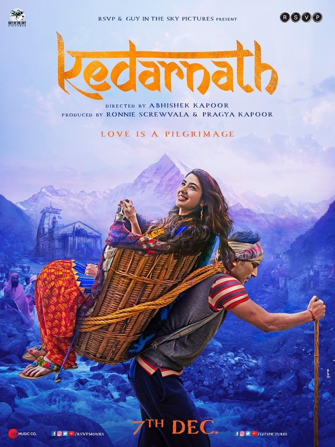 Kedarnath 2018 Hindi 720p WEB-Rip x264 AAC ~ Ranvijay