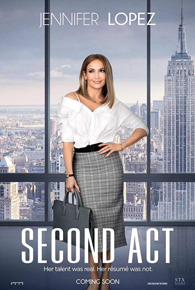 Second Act 2018 720p HDRip 800MB x264-GalaxyRG