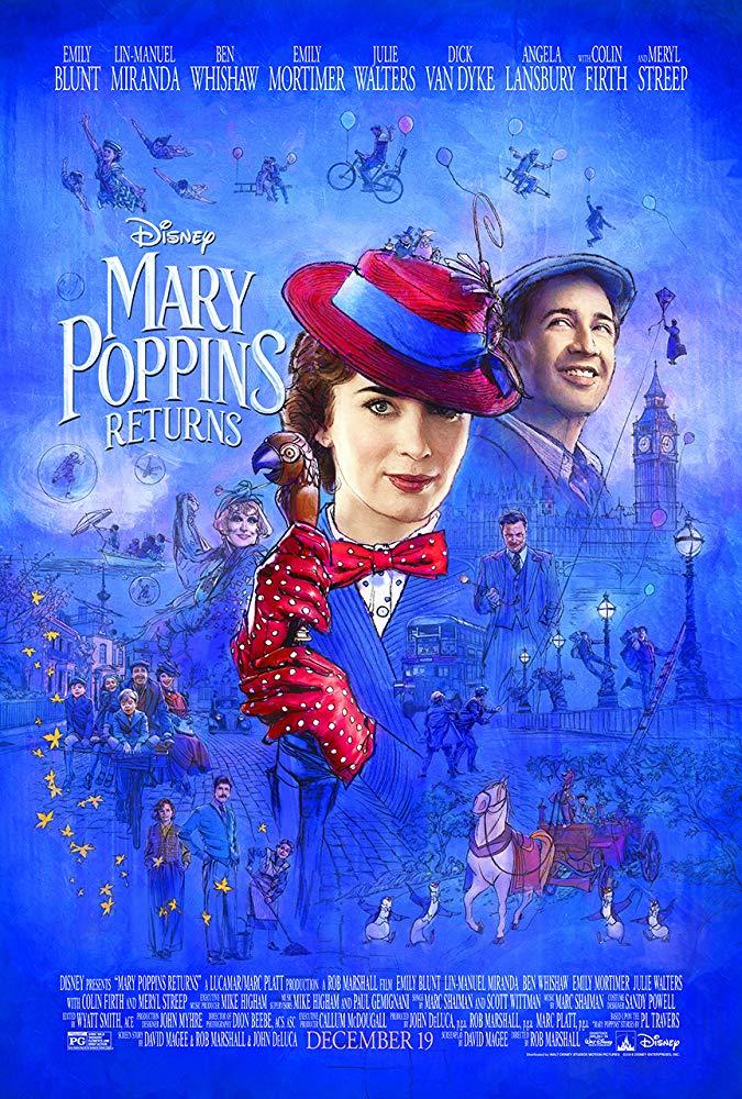 Mary Poppins Returns 2018 720p BrRip 2CH x265 HEVC-PSA
