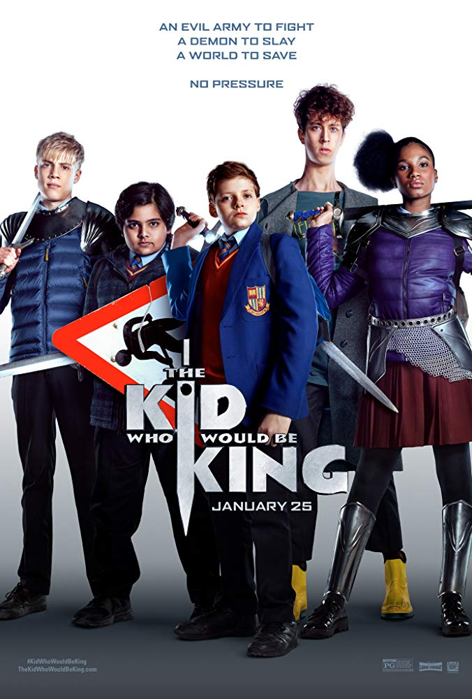 The Kid Who Would Be King 2019 720p HC HDRip x264 AC3-ETRG