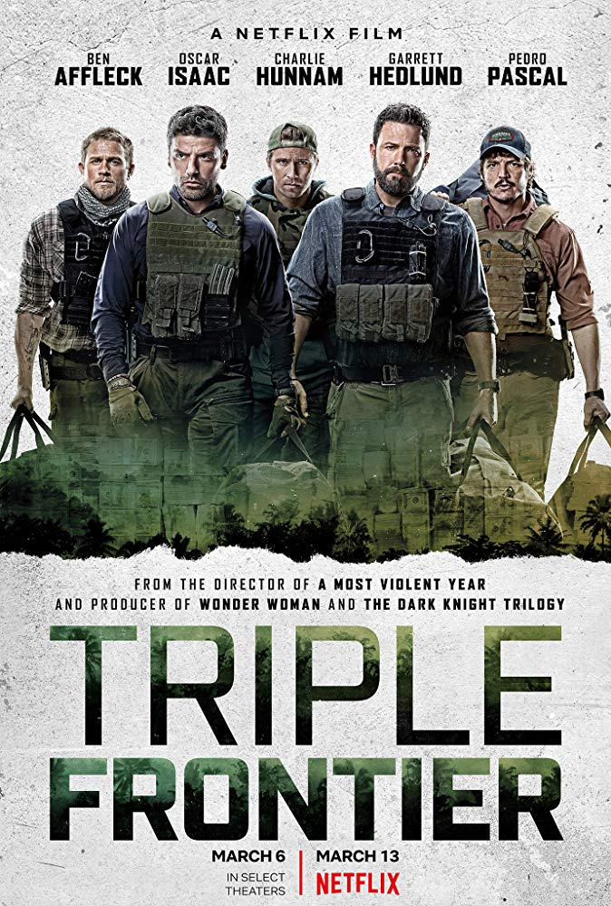 Triple Frontier 2019 English 720p HDRip x264 ESubs 1GB