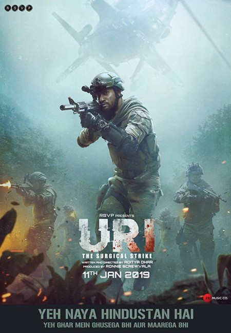 URI The Surgical Strike (2019) Hindi HDRip x264 700MB TAMILROCKERS