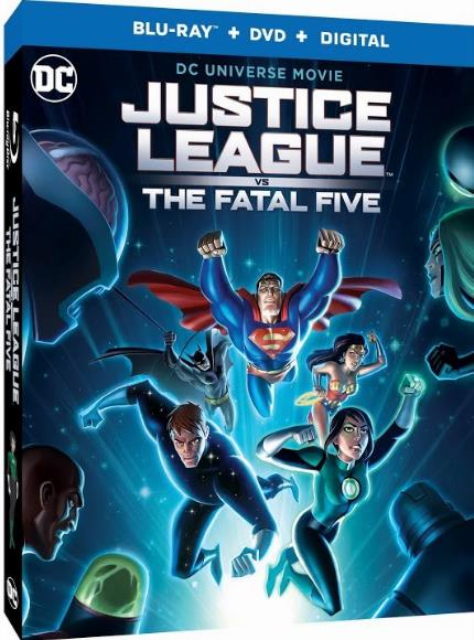 Justice League vs the Fatal Five (2019) WEB-DL XviD MP3-FGT