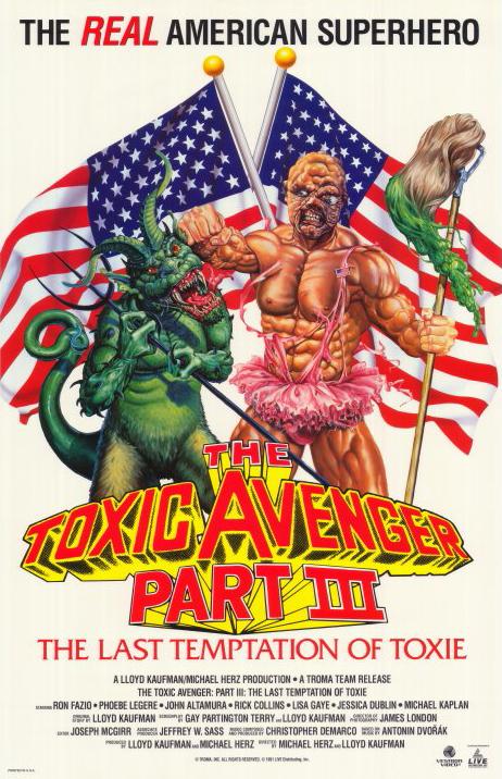 The Toxic Avenger Part III The Last Temptation of Toxie 1989 720p BluRay x264-x0r