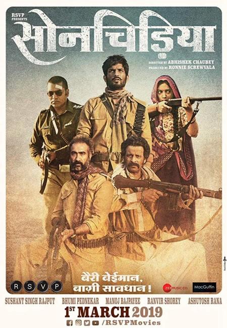 Sonchiriya (2019) Hindi - 720p WEB-DL - x264 - AC3 2 0 -Sun George