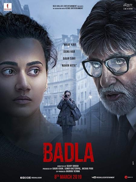 Badla (2019) Hindi HDRip x264 700MB TAMILROCKERS
