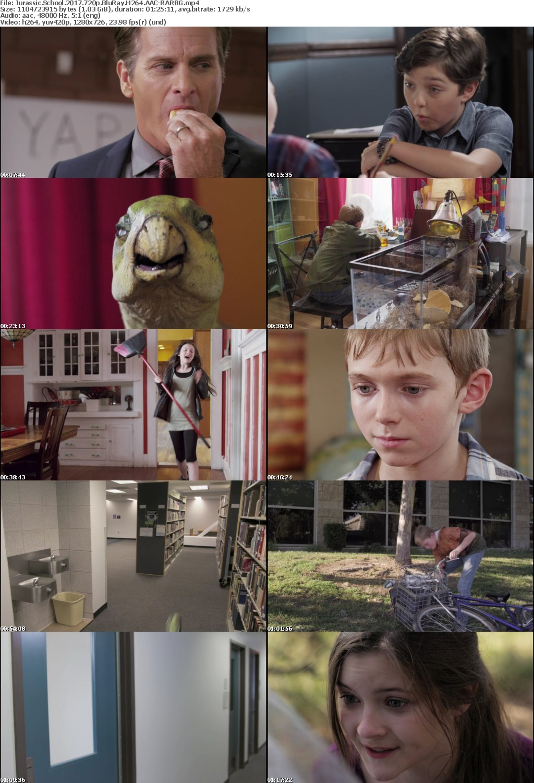 Jurassic School (2017) 720p BluRay H264 AAC-RARBG