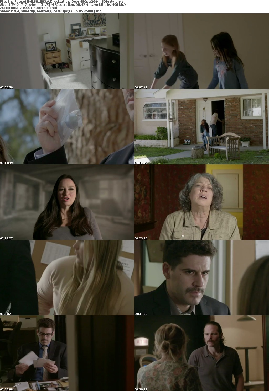 The Face of Evil S01E03 A Knock at the Door 480p x264-mSD