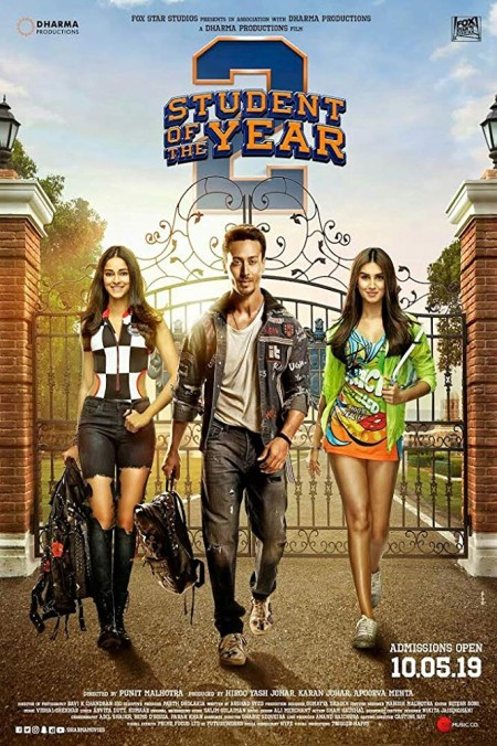 Student of the Year 2 2019 PreDVD Rip 350MB x264 CineVood Exclusive mp4