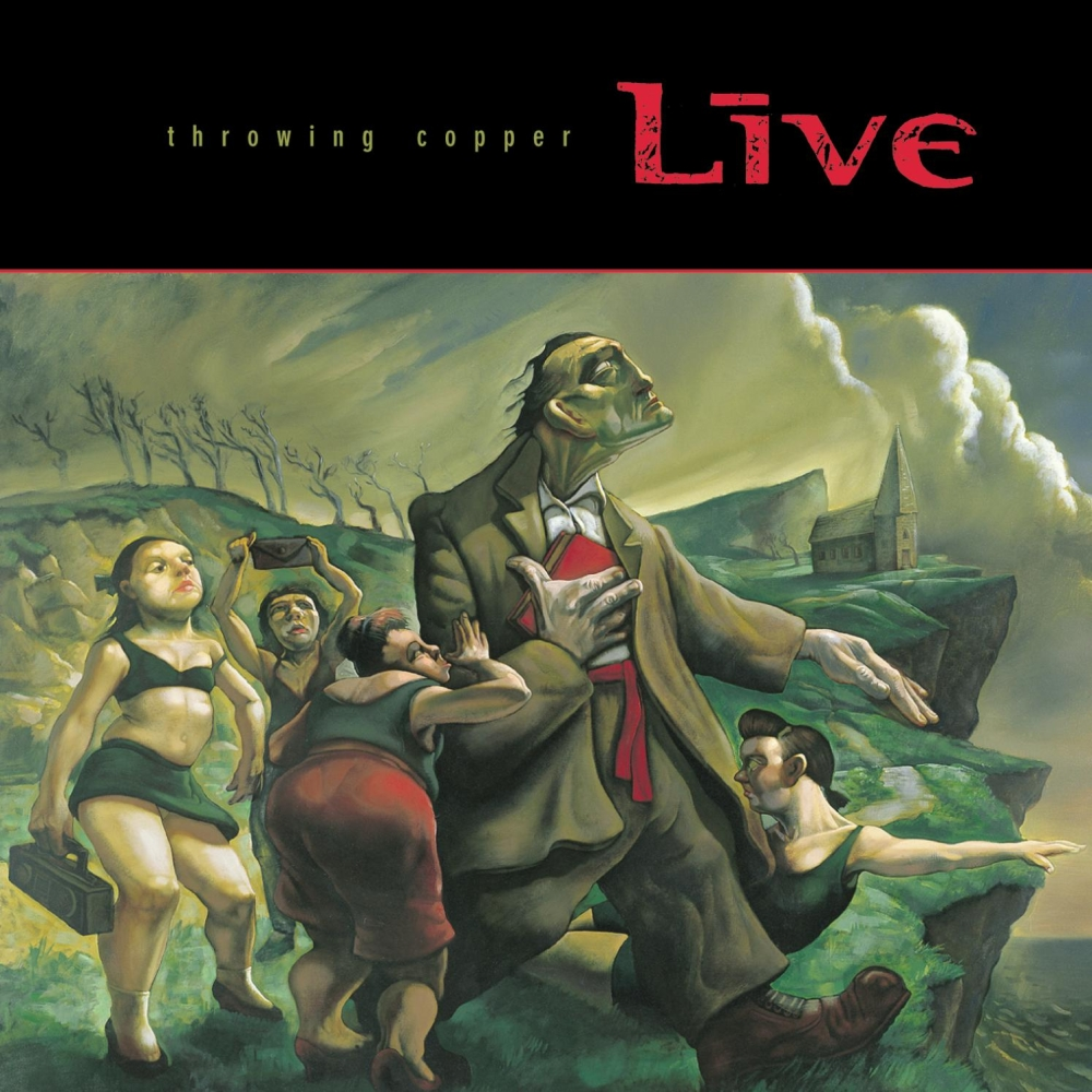 Live - Throwing Copper 1994 FLAC