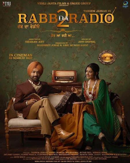 Rabb Da Radio 2 (2019) Punjabi 720p Pre-CAMRip x264-DLW
