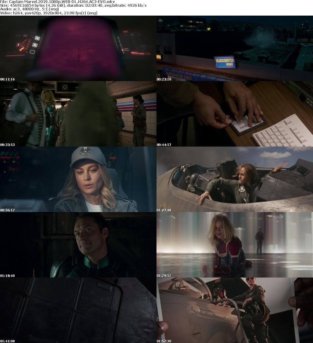 Captain Marvel 2019 1080p WEB-DL H264 AC3-EVO