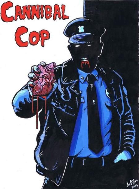 Cannibal Cop (2017) WEB x264-ASSOCiATE