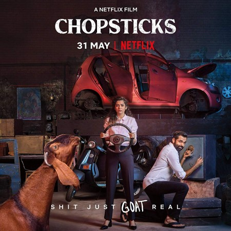 Chopsticks (2019) 720p NF HDRip x264 MSubs Dual AudioHindi 5 1 - English 5 1 -UnknownStAr Telly