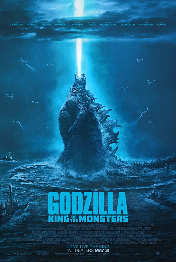 Godzilla King of the Monsters 2019 720p - V2 HQ DVDScr - HQ Line Aud Tamil + Hindi - x264 - 1GB