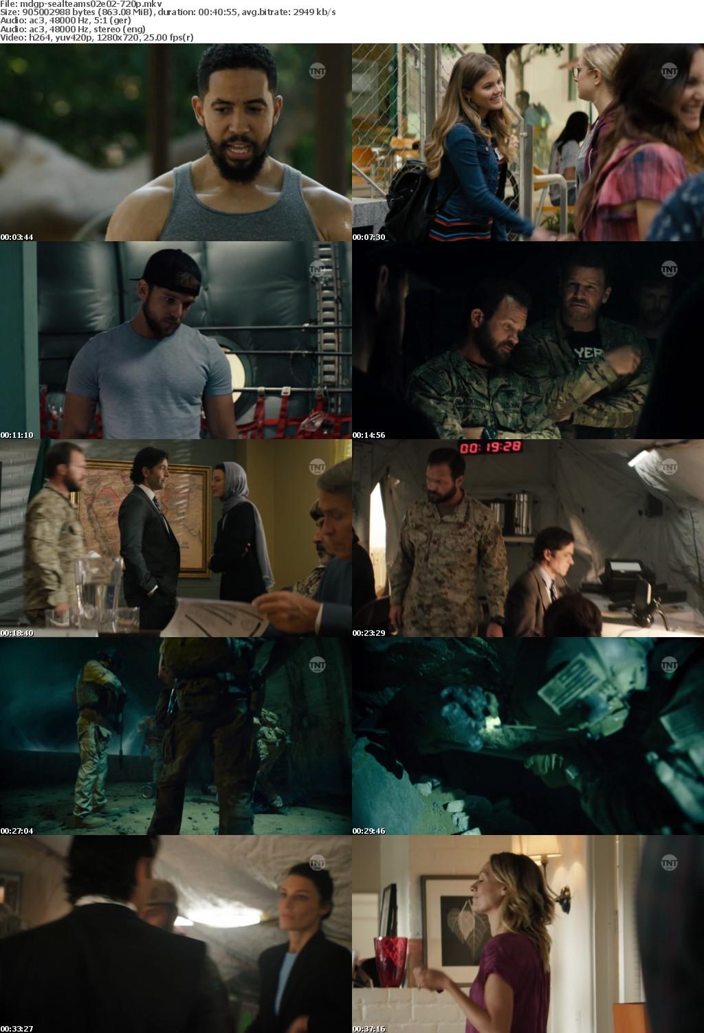 SEAL Team S02E02 Giftiges Wasser GERMAN DL 720p HDTV x264-MDGP
