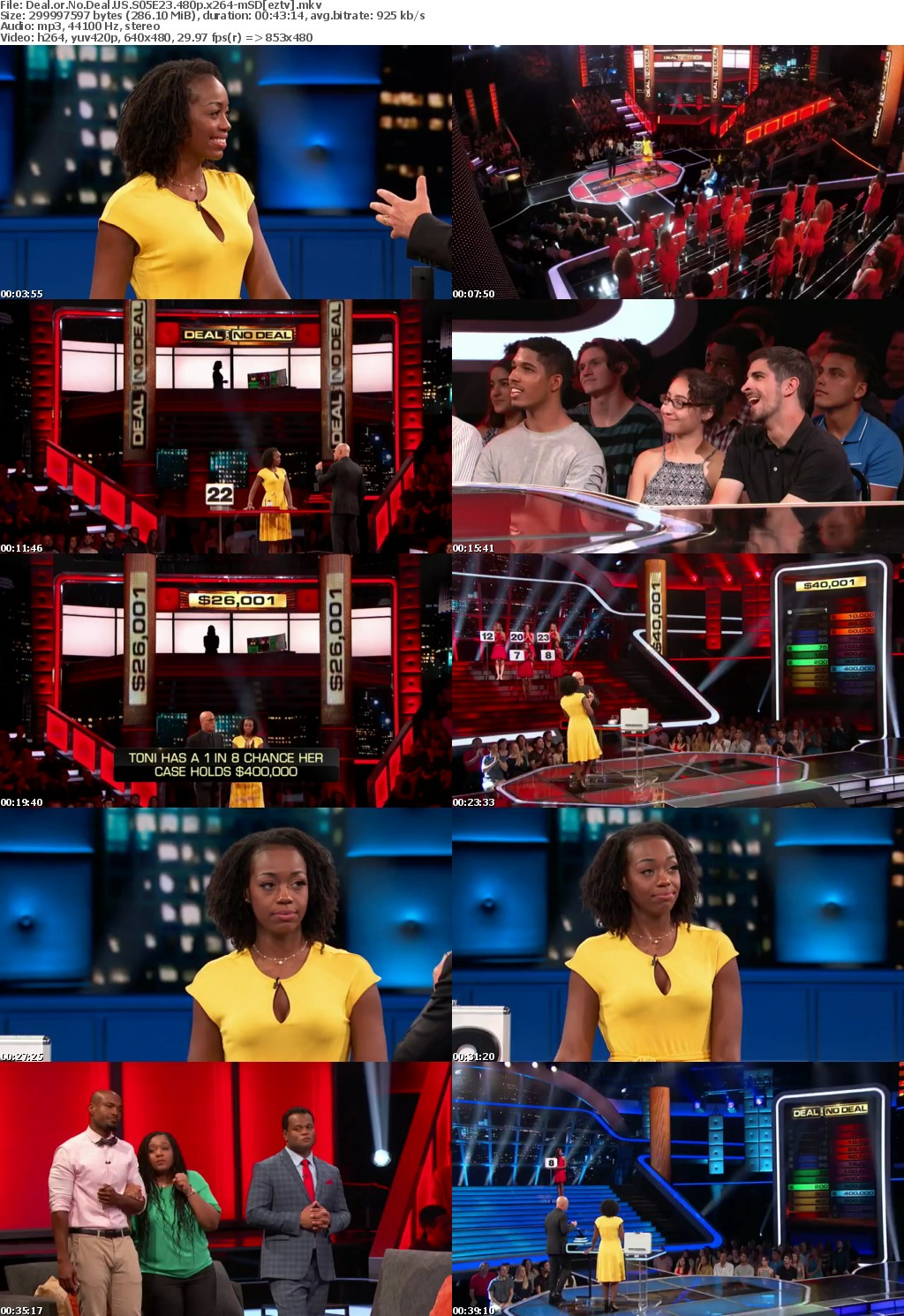 Deal or No Deal US S05E23 480p x264-mSD