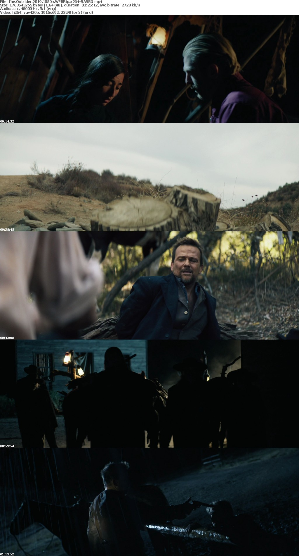 The Outsider 2019 1080p WEBRip x264-RARBG