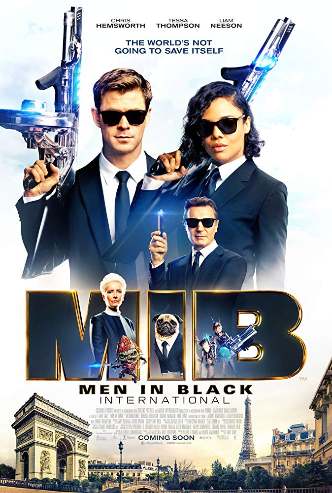 Men in Black International 2019 [Dual Audio] [Hindi (Cleaned) or English] 720p HDCAM x264 AAC - [Team MS]