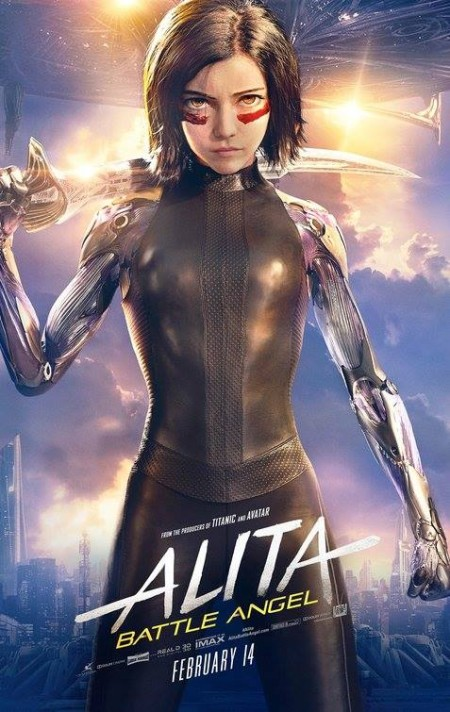 Alita Battle Angel 2019 720p BluRay 900MB x264 GalaxyRG