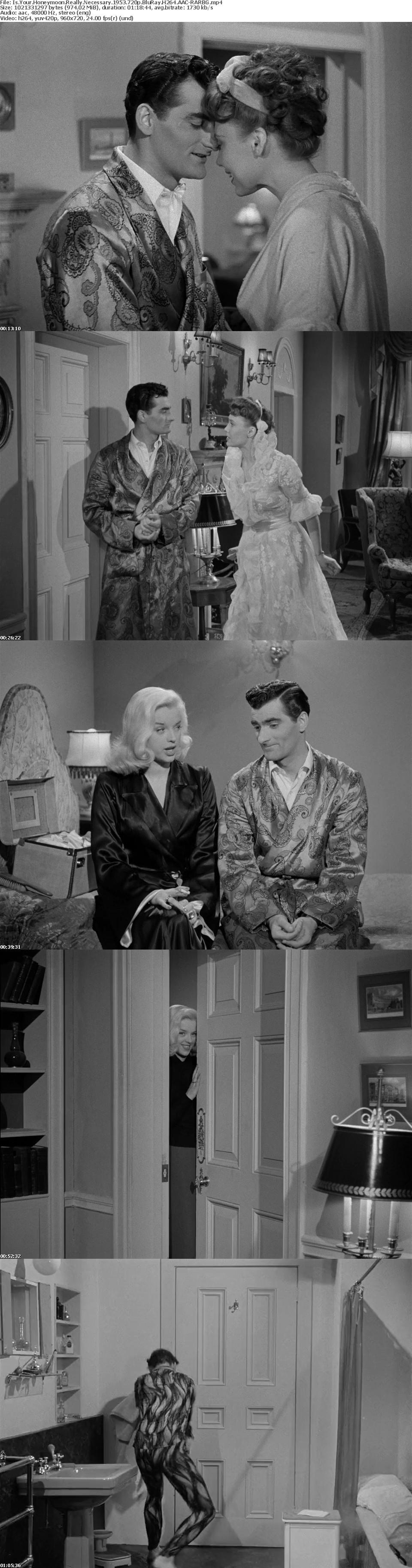 Is Your Honeymoon Really Necessary 1953 720p BluRay H264 AAC-RARBG