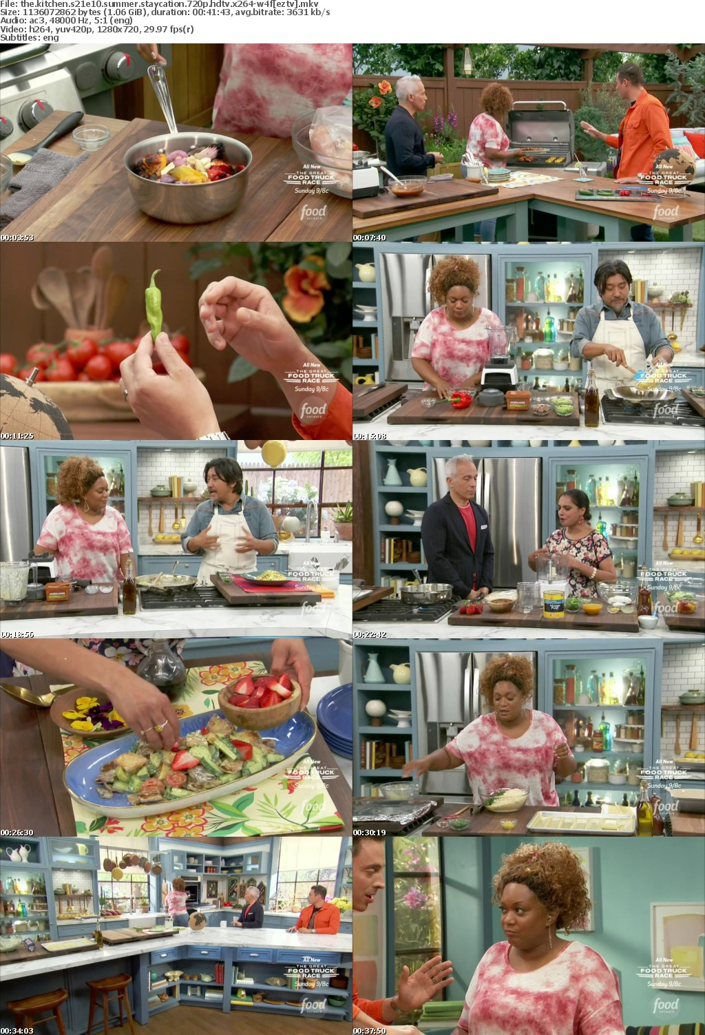 The Kitchen S21E10 Summer Staycation 720p HDTV x264 W4F