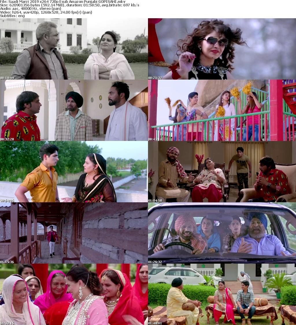 Saadi Marzi 2019 x264 720p Esub Amazon Punjabi GOPISAHI