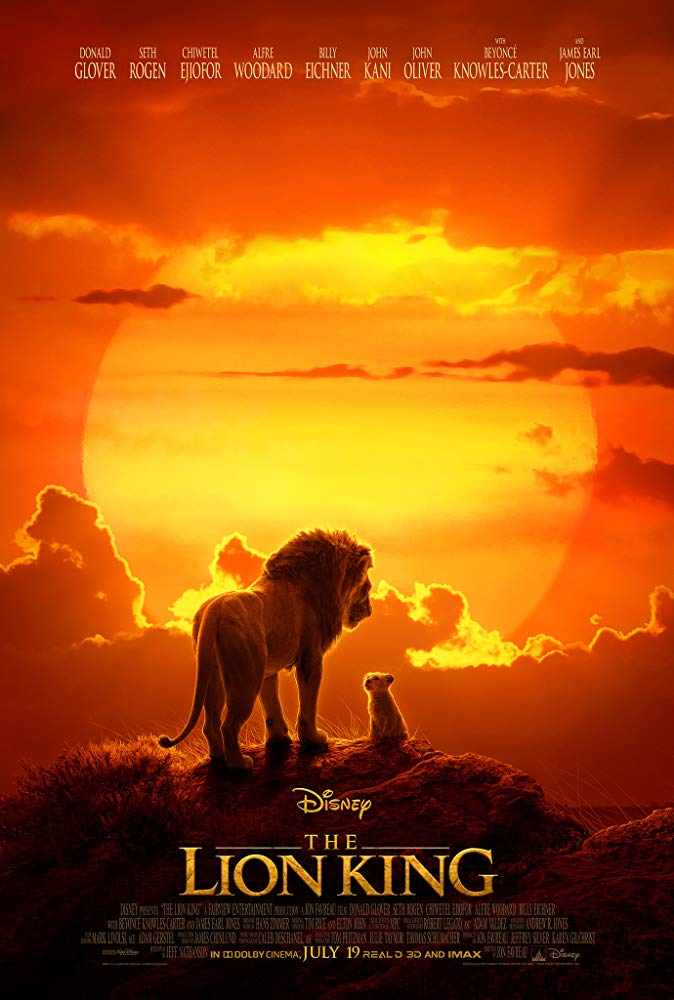The Lion King 2019 HDCAM 720p Hindi (HQ Line) Eng 800MB[MB]