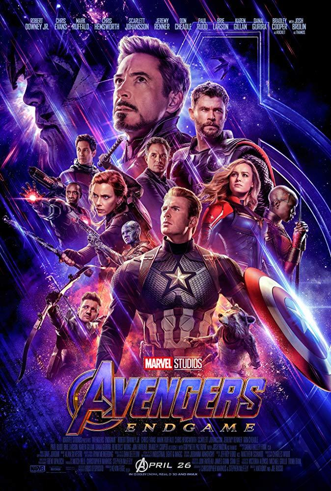 Avengers Endgame (2019) V2 1080p HDRip X264 AC3-EVO