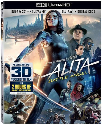 Alita Battle Angel (2019) 3D HSBS 1080p BluRay x264-YIFY