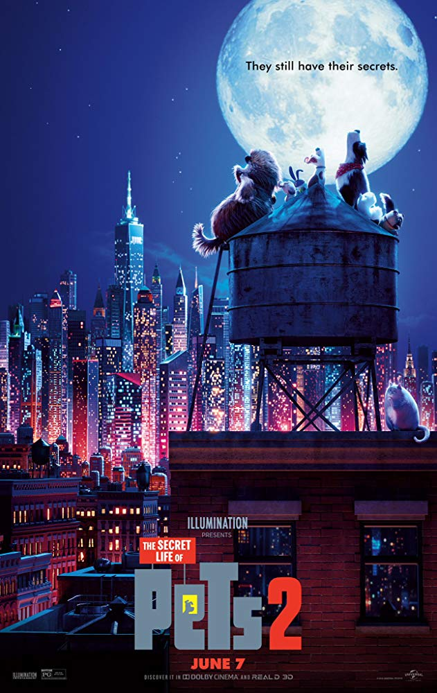 The Secret Life of Pets 2 2019 1080p WEB-DL H264 AC3-EVO