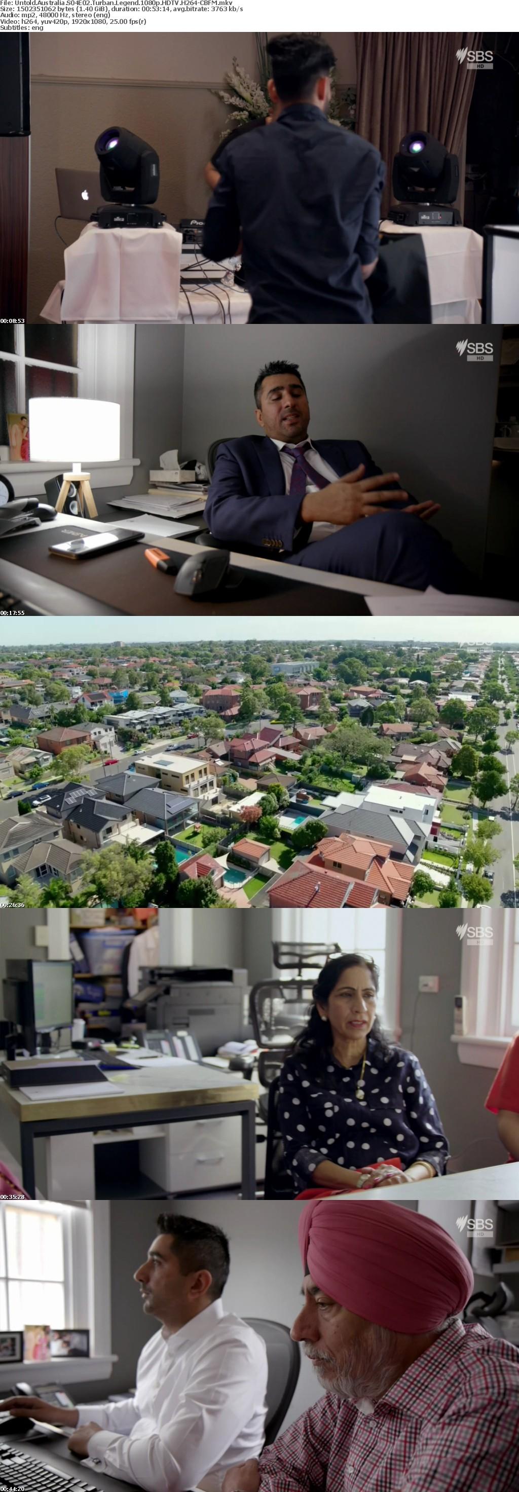 Untold Australia S04E02 Turban Legend 1080p HDTV H264-CBFM