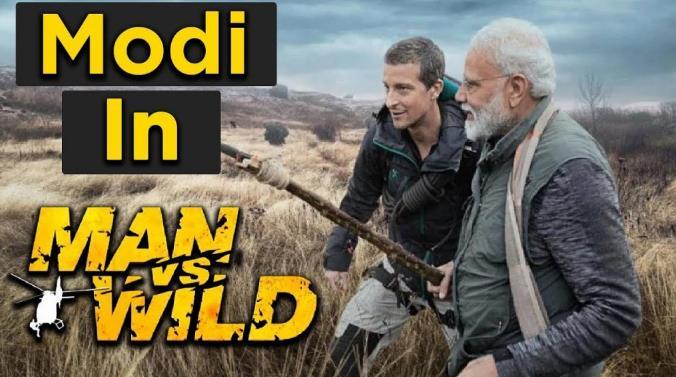 Man Vs Wild Bear Grills With PM Namo 720p Hindi HDTVRip x264 AAC-DLW