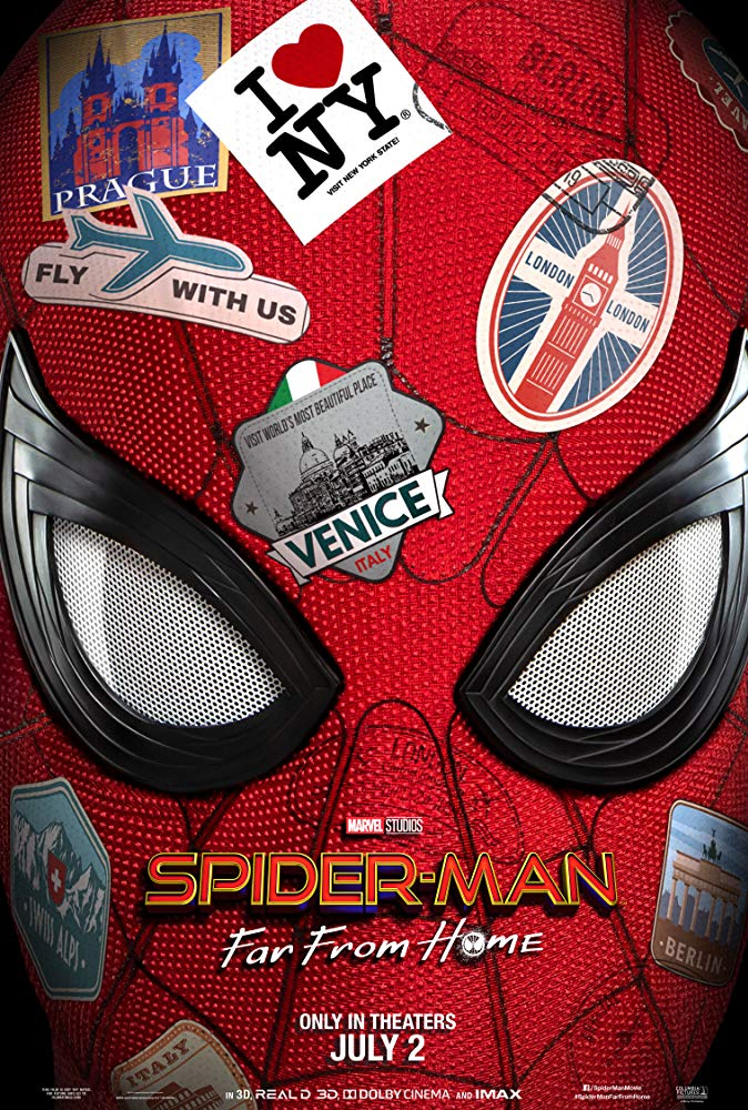 Spider Man Far From Home 2019 1080P Web-x264- Obey[TGx]